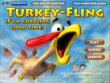 Turkey-Fling Browser The title screen.
