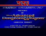 Pools of Darkness Amiga Title screen #1