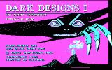 Dark Designs I: Grelminar's Staff DOS Title Screen