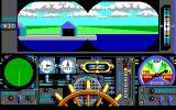 Advanced Destroyer Simulator DOS The binocular view (EGA)