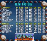 Cal Ripken Jr. Baseball SNES Team roster