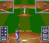 Cal Ripken Jr. Baseball SNES The view is the same whether the player is batting or pitching