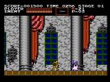 Castlevania NES Incoming ghost!