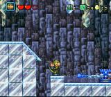 DinoCity SNES An icy level