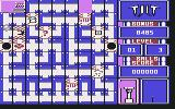 Tilt Commodore 64 Playing on the 1st level...