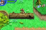 Over the Hedge Game Boy Advance I need to move logs instead of rocks.