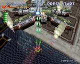RayStorm PlayStation Stage 1, first end boss