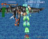 RayStorm PlayStation Stage 2, second end boss
