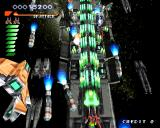 RayStorm PlayStation Stage 4, rocket attack