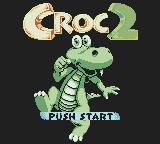 Croc 2 Game Boy Color Title screen