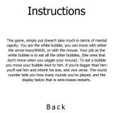 The Bubble Game Browser Instructions