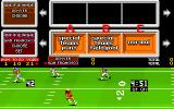 John Madden Football Amiga Choosing strategy