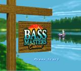 Bass Masters Classic SNES Title screen