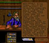 Bass Masters Classic SNES Talking to the clerk.
