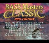 Bass Masters Classic: Pro Edition SNES Title screen