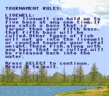 Bass Masters Classic: Pro Edition SNES Tournament rules