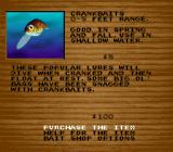 Bass Masters Classic: Pro Edition SNES Buying bait.