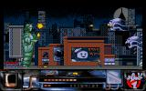 Ghostbusters II Amiga Flying skulls