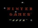 Winter Games NES Title screen