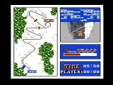 Winter Games NES The bobsled