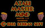 Atari Master Mind Atari ST Title screen