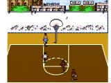 Hoops NES Two-on-two gameplay