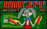 Rabbit Jump Atari ST Title screen