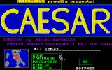 Caesar Atari ST Enter name and select contry to play
