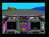 Blue Angels: Formation Flight Simulation DOS Takeoff! (CGA composite mode)