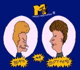 MTV's Beavis and Butt-Head SNES Title screen