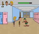 MTV's Beavis and Butt-Head SNES A skateboarding enemy