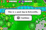 The Adventures of Jimmy Neutron: Boy Genius Vs. Jimmy Negatron Game Boy Advance Greeted by Jimmy.