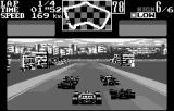 Final Lap 2000 WonderSwan Behind the pack