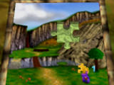 Banjo-Kazooie Nintendo 64 The Jiggies that Banjo collects are used to fill in puzzles which open new worlds.