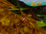 Banjo-Kazooie Nintendo 64 With new moves, you can tackle obstacles such as slopes.