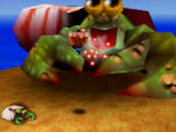 Banjo-Kazooie Nintendo 64 Nipper the crab is no match for our heroes.