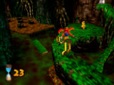 Banjo-Kazooie Nintendo 64 You need to quickly navigate these thin paths to reach the Jiggy here.