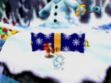 Banjo-Kazooie Nintendo 64 These snowmen constantly hurl snowballs at you.