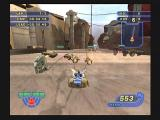 Star Wars: Racer Revenge PlayStation 2 Racing through the streets of Mos Eisely