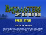 BassMasters 2000 Nintendo 64 Title screen