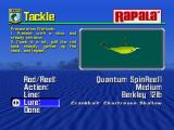 BassMasters 2000 Nintendo 64 Customizable options in Tackle