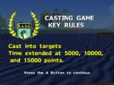 BassMasters 2000 Nintendo 64 Casting Game rules