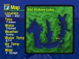 BassMasters 2000 Nintendo 64 Viewing your location and conditions.