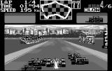 Final Lap 2000 WonderSwan Good view of a car in your right mirror