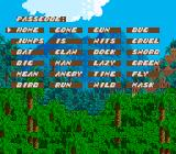 Sküljagger: Revolt of the Westicans SNES Password screen