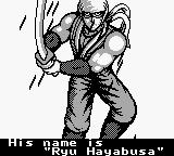 Ninja Gaiden Shadow Game Boy Intro