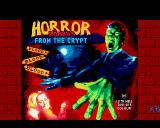 Horror Zombies from the Crypt Amiga Title screen #1