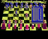 Battle Chess Amiga Menu: Difficulty selection