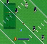 Super Play Action Football SNES Kickoff