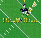 Super Play Action Football SNES The results of a play